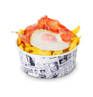 CHIPS CUPS